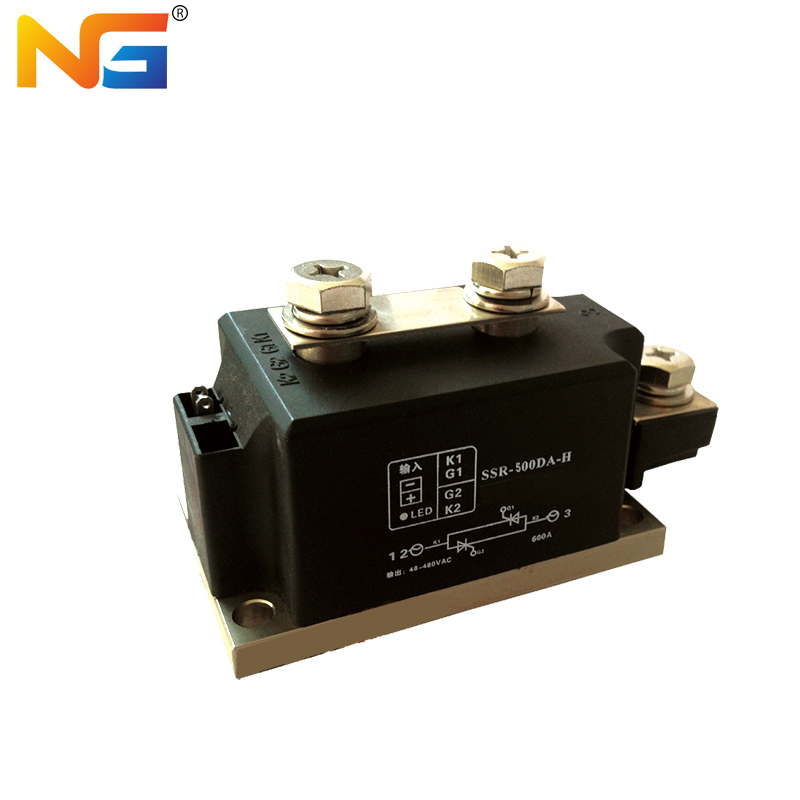NG SSR-500DA-H solid state relay single-phase DC control AC high structural strength 500A 600A 700A h 500a