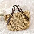 Veevan 2016 moda palha tecer saco bonito pequeno saco de praia bolsa de verão