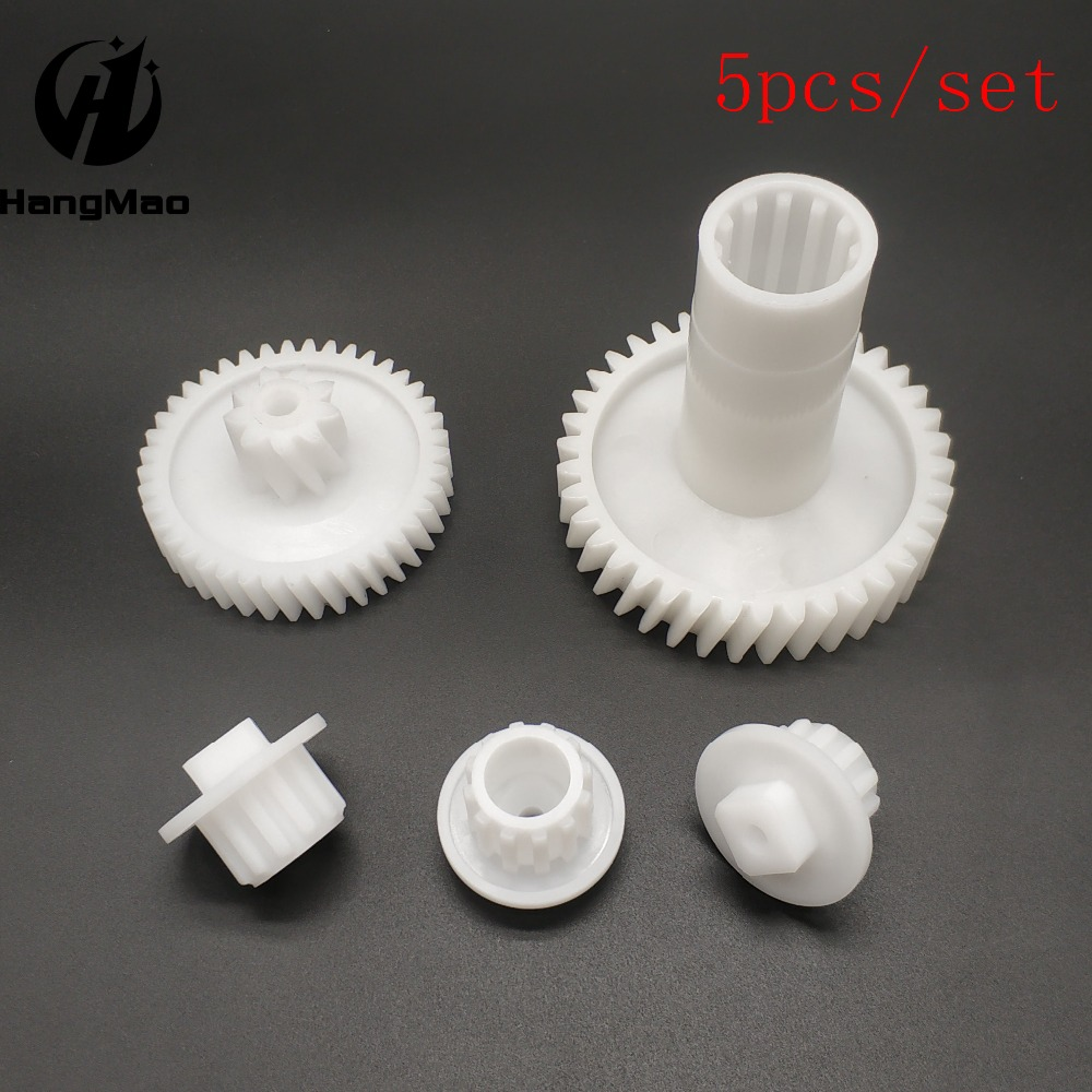 Worldwide Free Shipping 5pcs/set Free Shipping Meat Mincer Grinder Gear Kitchen Parts For Zelmer A861203, 86,1203