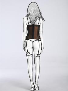 Image 5 - Gợi Cảm Dây Chéo Nữ Phong Cách Khoa Học Viễn Tưởng Корсетwaist Huấn Luyện Gợi Cảm Bodysuit Giảm Béo Áo Ngực Không Quần Lót Corselet