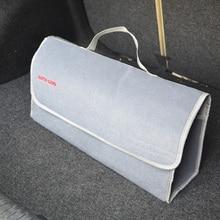 Большой Автомобиль Smart Tool Bag Серый Магистральные Хранения Организатор Мешок Игрушки Продукты Укладка Уборка Салона Складной Складной