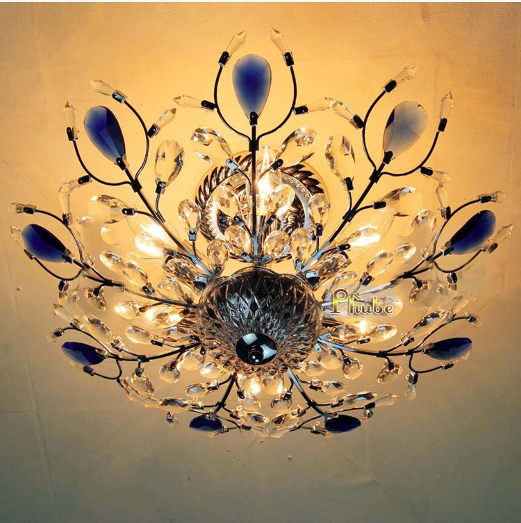 Modern Chrome / Gold Crystal Chandelier Light Fixtures,Tree Shape Guaranteed 100%+Free shipping!