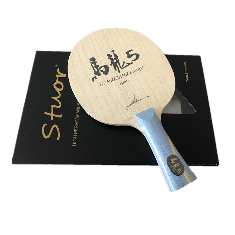Image 2 - Hurricane Long Table Tennis Blade table tennis racket pingpong racket FL finished table tennis bats long handle shakehand racket-in Table Tennis Rackets from Sports & Entertainment