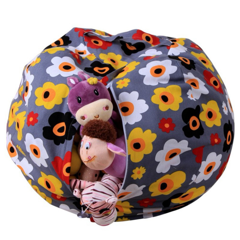 Incredible Us 6 38 15 Off Creative Modern Storage Stuffed Animal Storage Bean Bag Chair Portable Kids Clothes Toy Storage Bags Printed Woolen Toy Bags In Theyellowbook Wood Chair Design Ideas Theyellowbookinfo