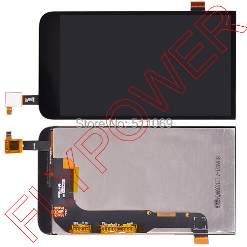 ФОТО For HTC Desire 616 D616w display LCD display +touch digitizer Black assembly by free shipping