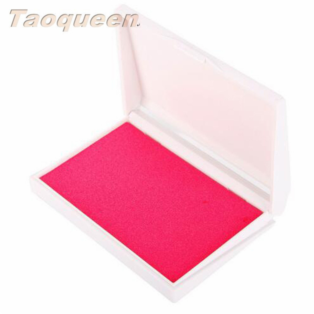 Taoqueen Baby Handprint Footprint Imprint Kit Inkpad Cute Gifts Non-Toxic Newborn Souvenirs Casting Ink Pad Infant Clay Toys