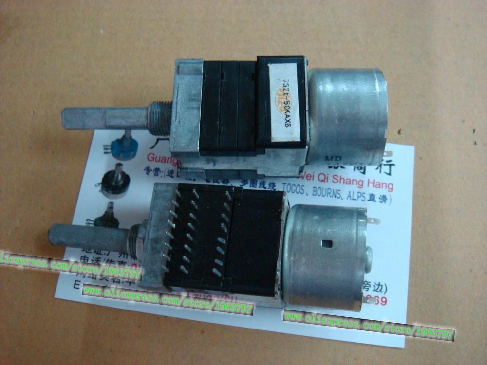 1pcs/lot RK168 732t 50KAX6 6 associated with motor potentiometer 30MMF [no tap] In Stock1pcs/lot RK168 732t 50KAX6 6 associated with motor potentiometer 30MMF [no tap] In Stock