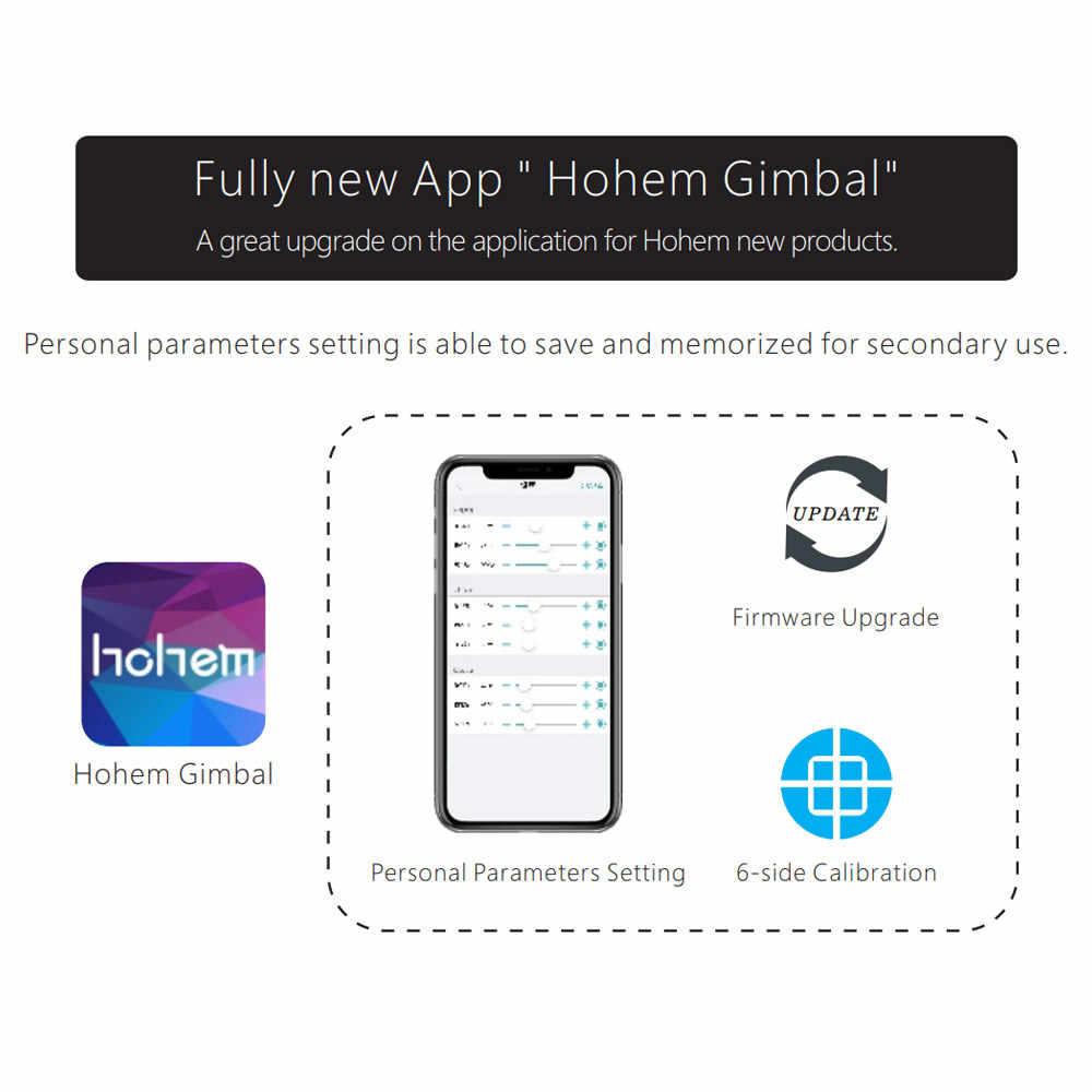 Hohem Isteady Pro/Pro2 Gimbal Ổn Định 3 Trục Cho Gopro Hero 7/6/5/ 4/3 Cho Sony RX0 Cho Sjcam Yi Camera Hành Động