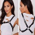 Cool Leather Harness Lingerie Accessories Body Chains Punk Street Style Women Belt Sexy Outfit