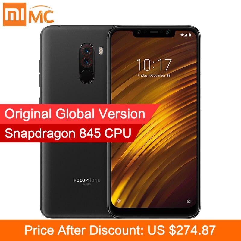Глобальная версия Xiaomi POCOPHONE F1 6 GB 64 GB Смартфон Snapdragon 845 Octa Core 618 2246x1080 FHD LiquidCool AI двойной Камера купить на AliExpress