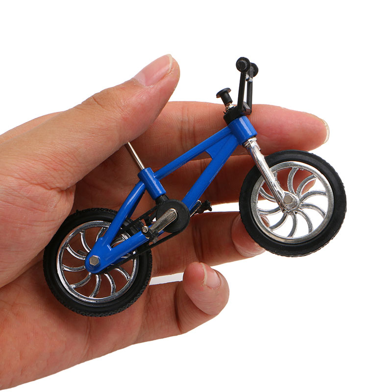 HBB Finger Alloy Bicycle Model Mini MTB BMX Fixie Bike Boys Toy Creative Game Gift