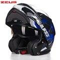 ZEUS Carbonfiber Modular Motorcycle helmet 3500A Moto Capacetes Motociclismo Cascos Para Moto Casque Motosiklet Flip Up Helmets