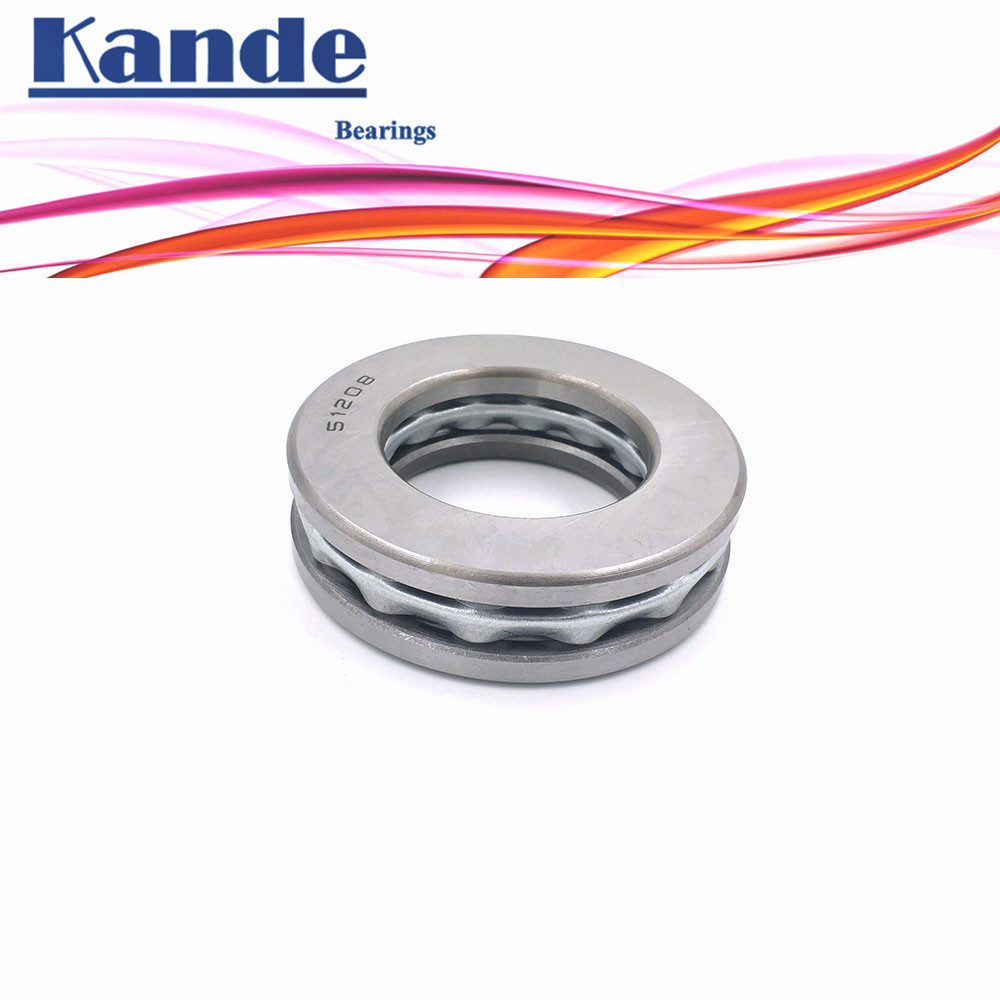Kande 51211 51212 51213 51214 51215 1pc ABEC-1 bearing Flat Thrust Ball Bearing Axial thrust bearing 55x90x25 60x95x26 цена