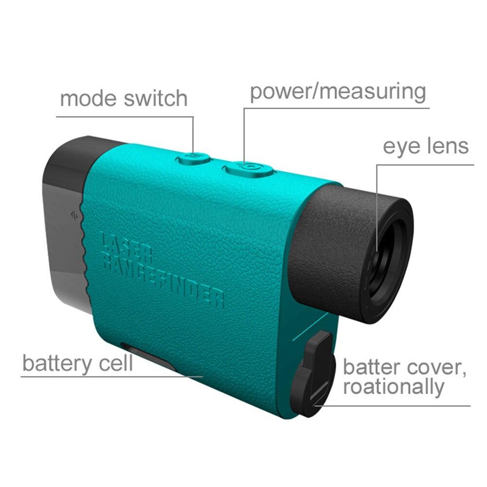 Golf Laser-entfernungsmesser Range Finder Optische Instrumente Mileseey PF03 600M 1000M 1500M Messung für Jagd Golf Racing