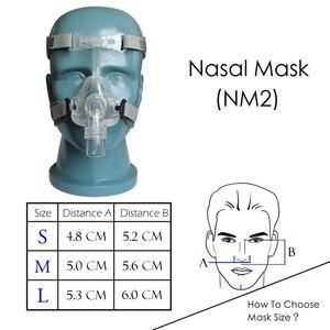 Image 4 - BMC CPAP Machine Mask Headgear Humidifier Filter Hose Bag Breathing Apparatus Portable Respirator For Sleep Apnea Anti Snoring