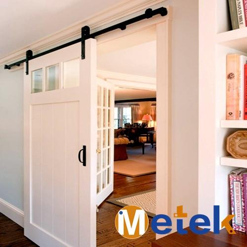 Metekinterior Barn Style Sliding Door System In Doors From Home