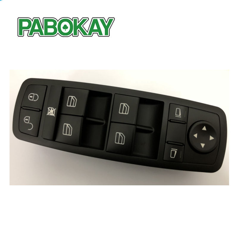 Electric Power Window Master Switch For Mercedes Benz B-Class W245 A-Class W169 2005 2006 2007 2008 2009 <font><b>A1698206610</b></font> image