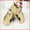 2016 Spring and Summer hot sell styles Guaranteed 100% soft soled Genuine Leather baby shoes