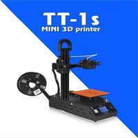 2018 Новый TT 1s мини Windows 3D принтер Полностью Собранный поставляется с 0,3 кг расходных материалов в случайных цветов