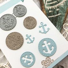 Buy YaMinSanNiO Ocean Series Metal Cutting Dies New 2019 for Card Making DIY Scrapbooking Embossing Cut New Craft Die Anchor Element directly from merchant!