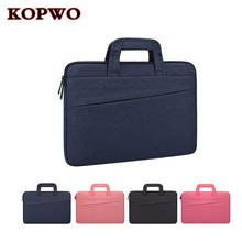 KOPWO Portable Laptop Bag Wear Resistant Notebook Briefcase for Apple Macbook Air Pro 11 12 13 15 Inch Dell HP Sony Shockproof