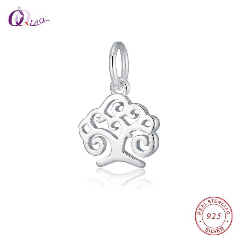 925 серебро Pachira крупноплодный Древо жизни кулон для женщин серебряные ювелирные изделия колье браслет аксессуары