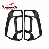 Citycarauto Np300 Tail Lights Cover Rear Lamp Cover Car Styling Accessories Fit For NISSAN NAVARA NP300