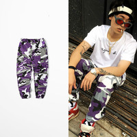 Militar Camouflage Pants Dark Soul Cargo Pants Men Skateboard Bib Overall Camo Pants Ins Network With