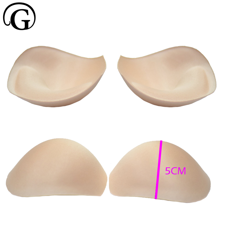 ad2525db4f PRAYGER Women Removable Cups Bra Inserts Pad Foam Top Push Up Bra Pad  Breast Enhancer Bikini Swimwear sponge padding-in intimates  accessories  from ...