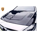 Carbon Fiber Engine Hood Cover For Mercedes A-class W176 A250 2013 2014 2015 V Style Car Styling