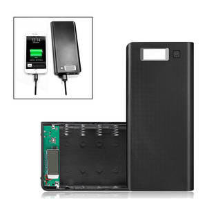 Battery-Storage-Box Powerbank-Case Quick-Charger iPhone Xiaomi 8x18650 5V DIY Dual