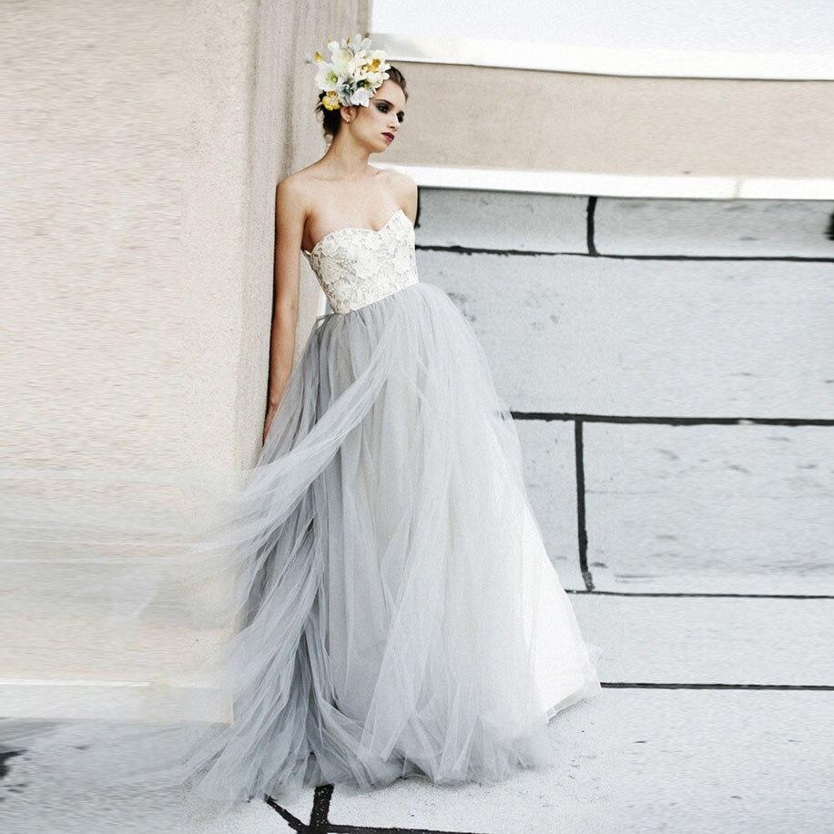 Popular Light Gray Wedding Dresses-Buy Cheap Light Gray Wedding ...
