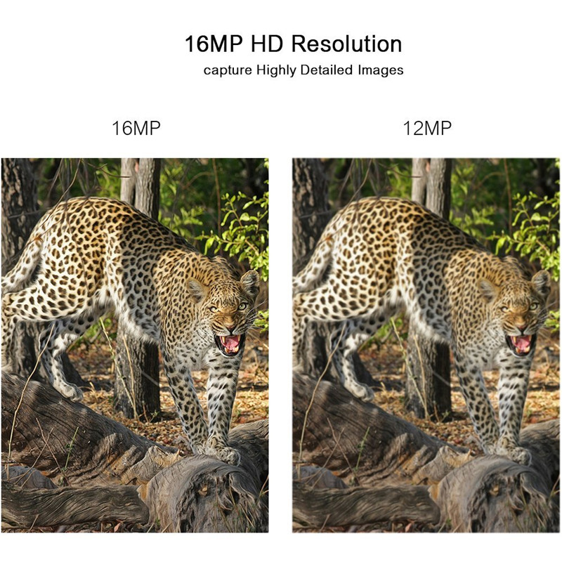 Shoot IR Night Vision 16MP 1080P HD Trail Camera Wildlife Game Hunting Camera 65ft /20m Infrared Scouting Camera by DHL