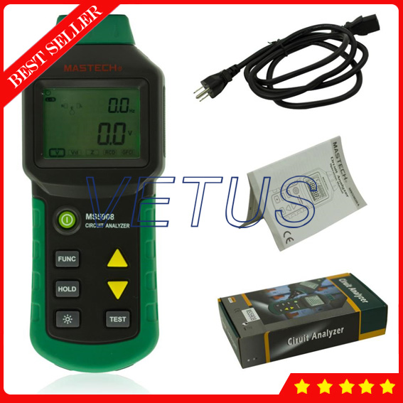 MASTECH MS5908 AC Low Voltage Circuit Tester трассоискатель mastech ms6812
