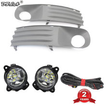 2Pcs LED Light For VW Transporter Multivan Caravelle T5 2003 2004 2005 2006 2007 2008 2009 2010 LED Fog Light Fog Lamp Bulbs(China)