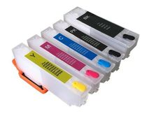 Vilaxh T2611 - T2614 refillable ink cartridge for Epson XP-600 XP- 605 XP-610 XP-700 XP-800 XP-720 XP-820 with ARC chip