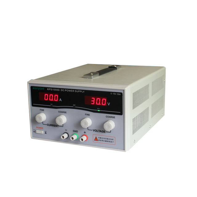 KPS1550D High Precision Adjustable LED Dual Display Switching DC Power Supply 220V EU 15V/50A
