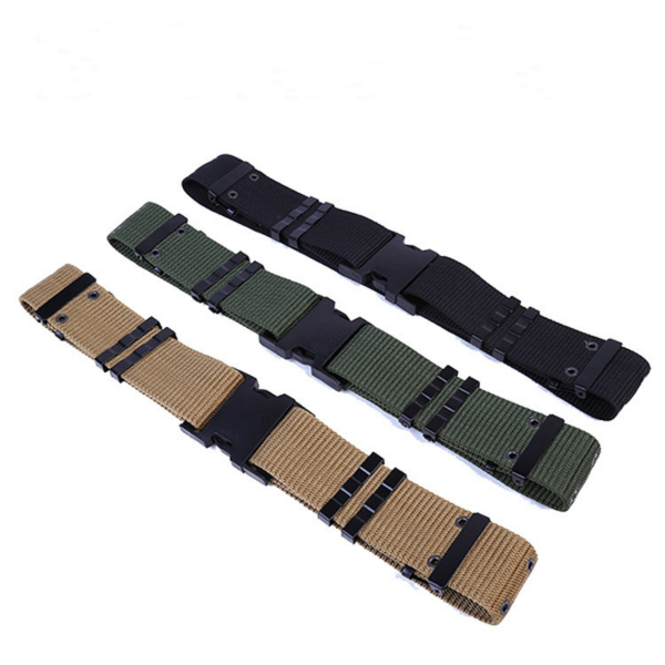 DOMAN Outdoor Army Military Combat Uniforms Woodland Camo Belt Commando Simple Tactical  ...