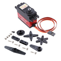Hobbypark Digital High Torque 20kg Servo Motor Metal Gear 2BB 1 10 1 8 1 5