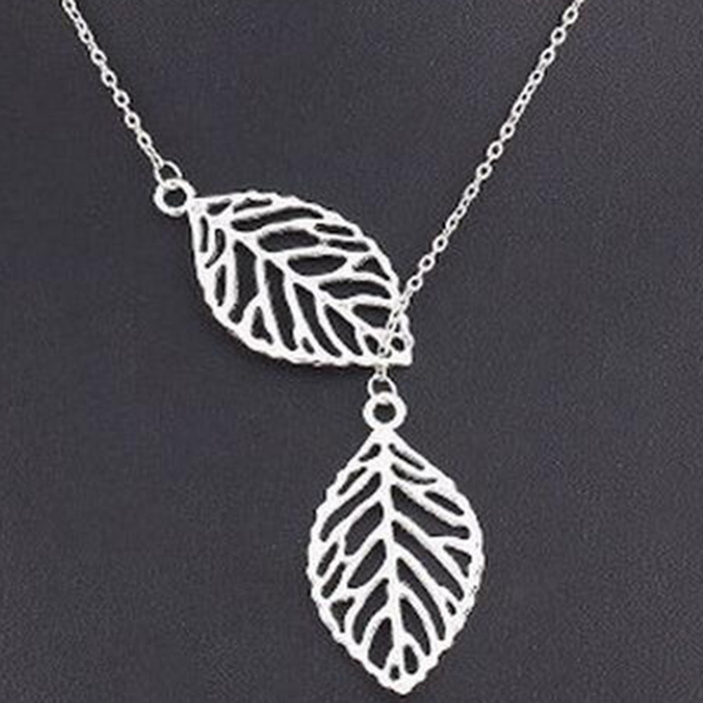 leaves accessories party pendant in statement necklaces women right pendants jewelry item match for drop necklace vintage gift from water