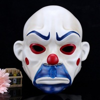High Quality Resin Clown Mask Halloween Christmas Cosplay Costume Party Mask Movie Theme Jack Napier Batman Joker Masks