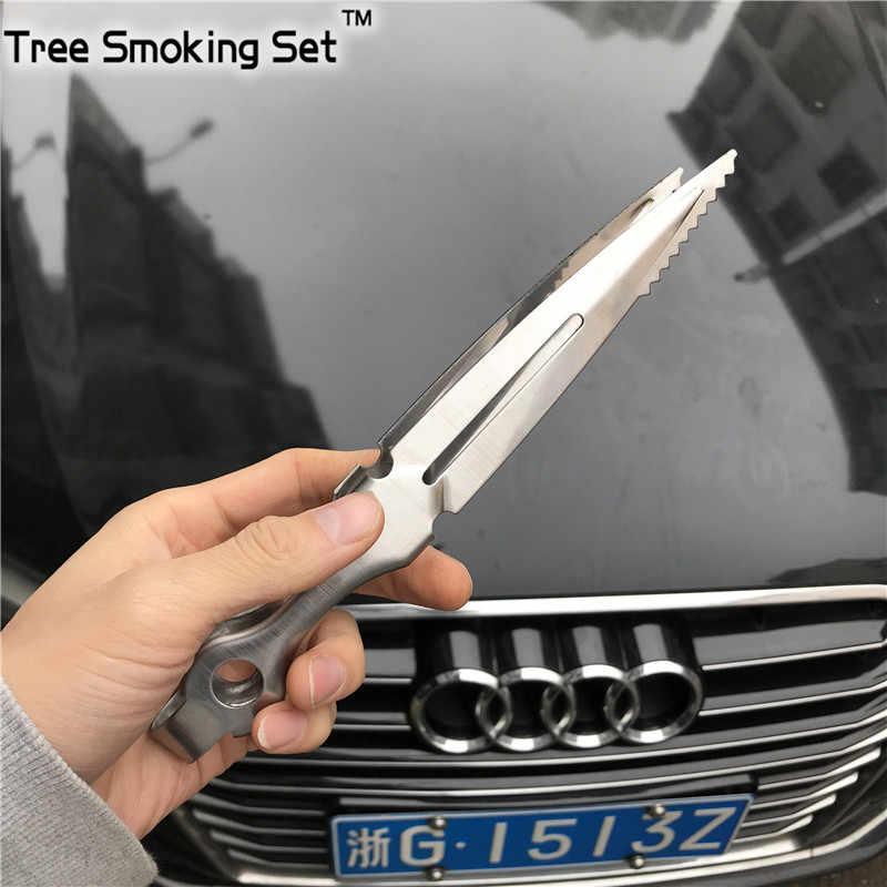 Hookah charcaol tong carbono clip hoja hookah copia chicha narguile nargile fumar Shisha de Pipa accesorios cachimba TJIA0012