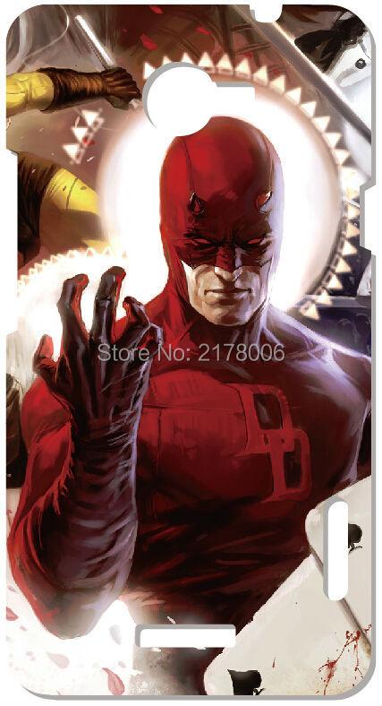 Malerei Daredevil Hero Kunststoff Hart Handy Abdeckung Für HTC EINS X M7...
