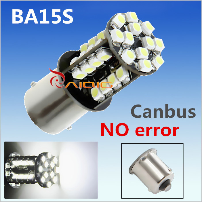 1156 BA15S 44 SMD valge CANBUS OBC vigadeta p21w R5W led-lampide pirnid suunatulede parkimine