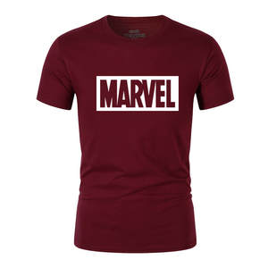2019 New Fashion MARVEL t-Shirt men cotton short sleeves Casual male tshirt marvel t shirts men tops tees Free shipping