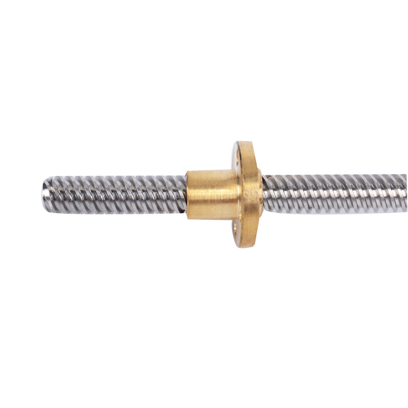 304 Stainless Steel T14 Screw Length 400mm Pitch 3mm Lead Trapezoidal Spindle With Nut Flash Deal 647f Cicig