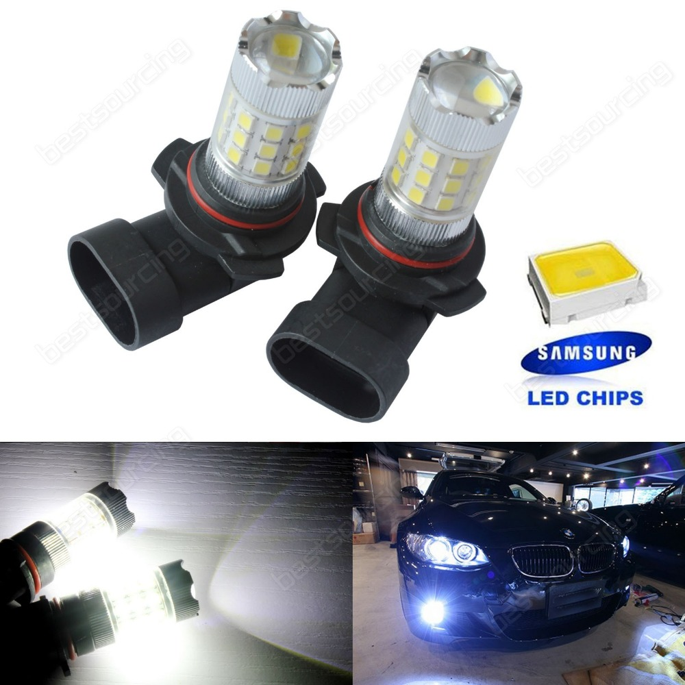 2x HB4 9006 SAMSUNG LED 30W Main Headlight DRL Fog Daytime Running Light Bulbs(CA273)
