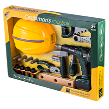 Construction Role Play Toy Set with Electric Drill