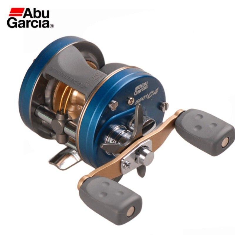 Abu Garcia AMB-5600-C4 5BB Droite/Main Gauche Moulinet De Pêche Compact Poignée Moulinet Peche Carretilha Roue De Pêche