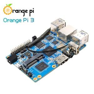 Image 5 - Orange Pi 3 Set1: OPI 3 + Netzteil, h6 1 GB LPDDR3 + 8 GB EMMC Flash Gigabyte AP6256 BT5.0 Unterstützung Android 7.0, Ubuntu, Debian
